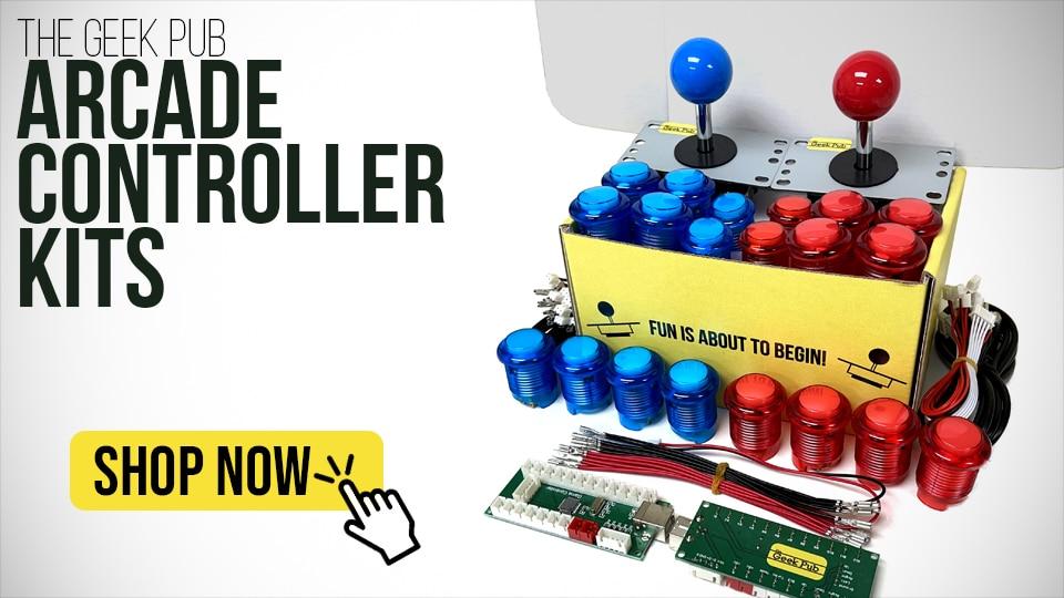 Shop Geek Pub Arcade Controller Kits