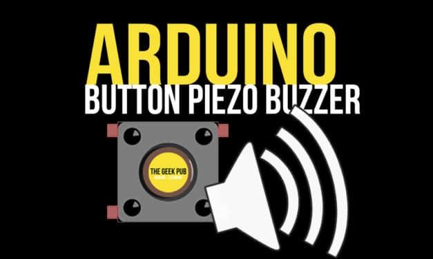 Control a Piezo Buzzer with a Button