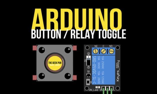Arduino Control a Relay with a Button