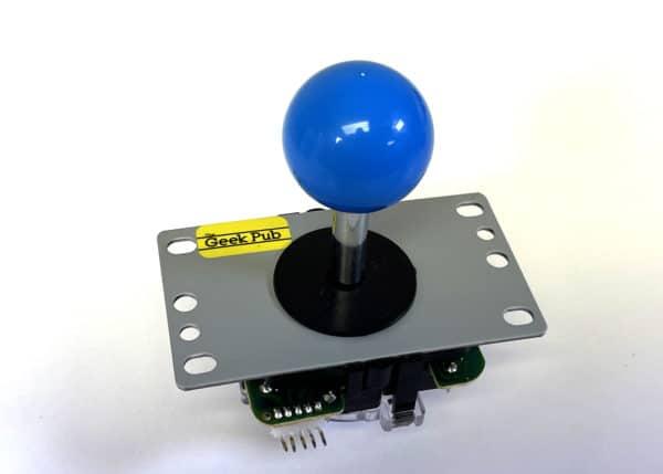 Blue Arcade Joystick by The Geek Pub