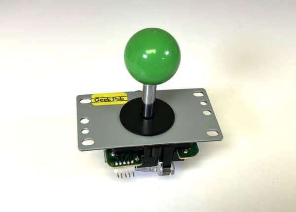 Green Arcade Joystick by The Geek Pub