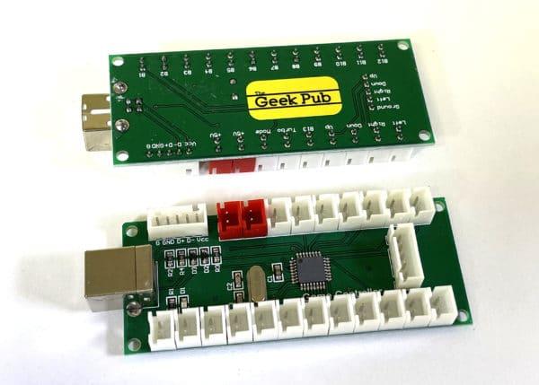 Zero Delay Arcade Encoder Board by The Geek Pub