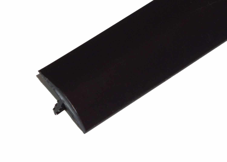 "1"" Black T-Molding"