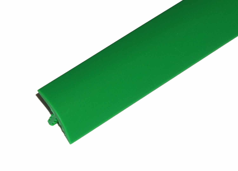 "1/2"" Green T-Molding"