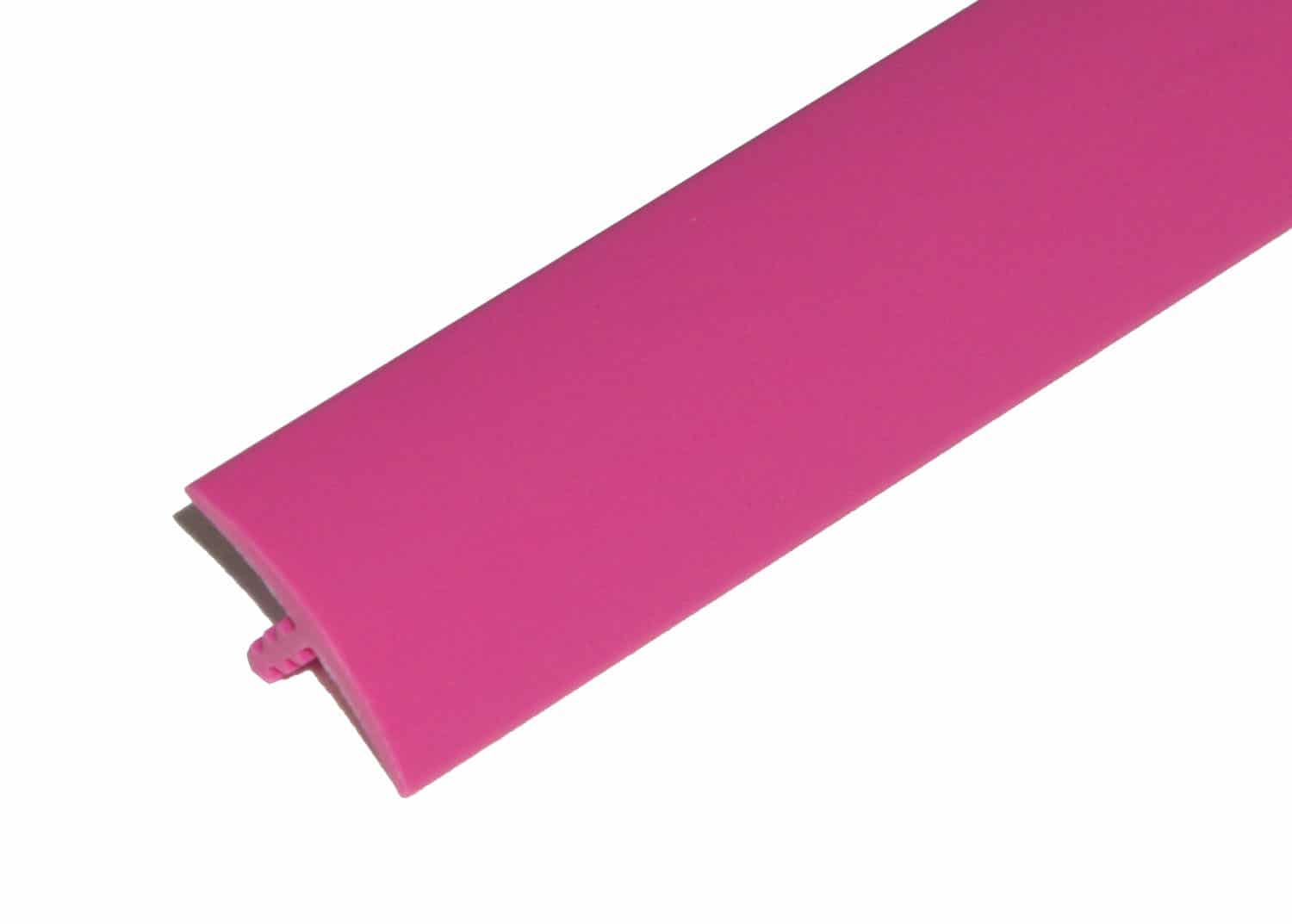 """1/2"""" Pink T-Molding"""