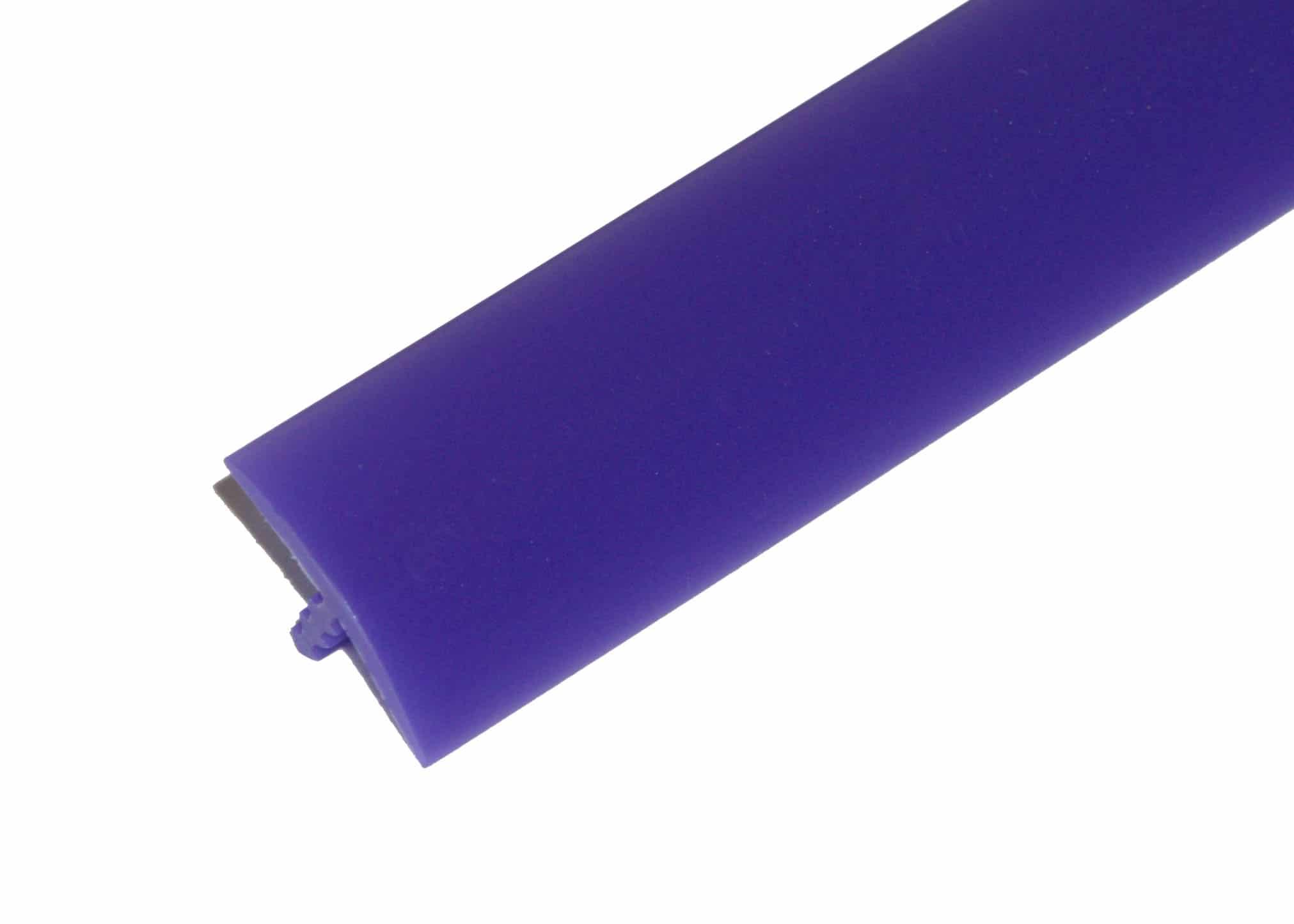 "1/2"" Purple T-Molding"