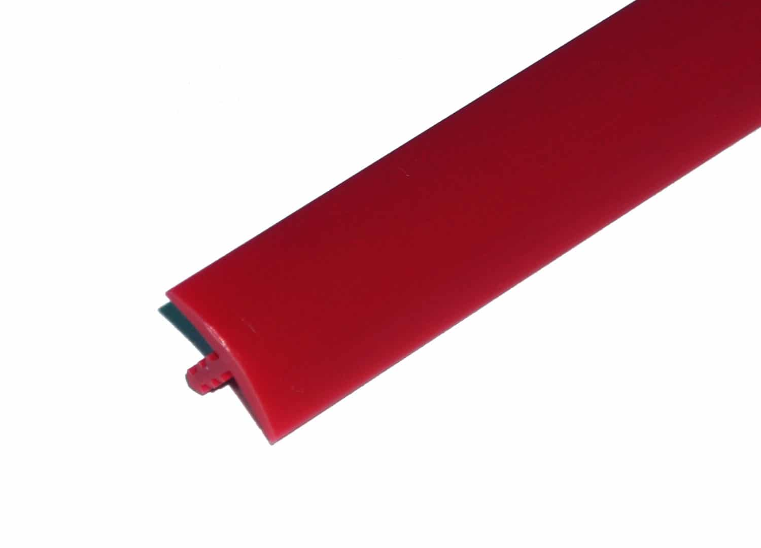 """1/2"""" Red T-Molding"""