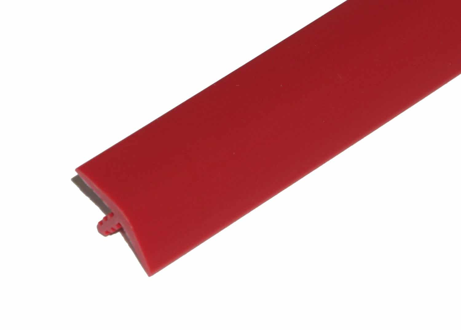 """1"""" Red T-Molding"""