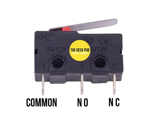 Arduino Limit Switch Pinout