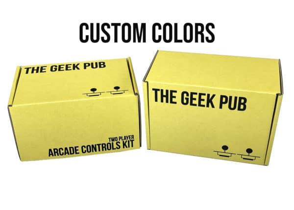 Custom Colors Arcade Controls Kit