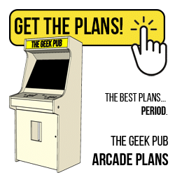 Get the Arcade Cabinet Plans