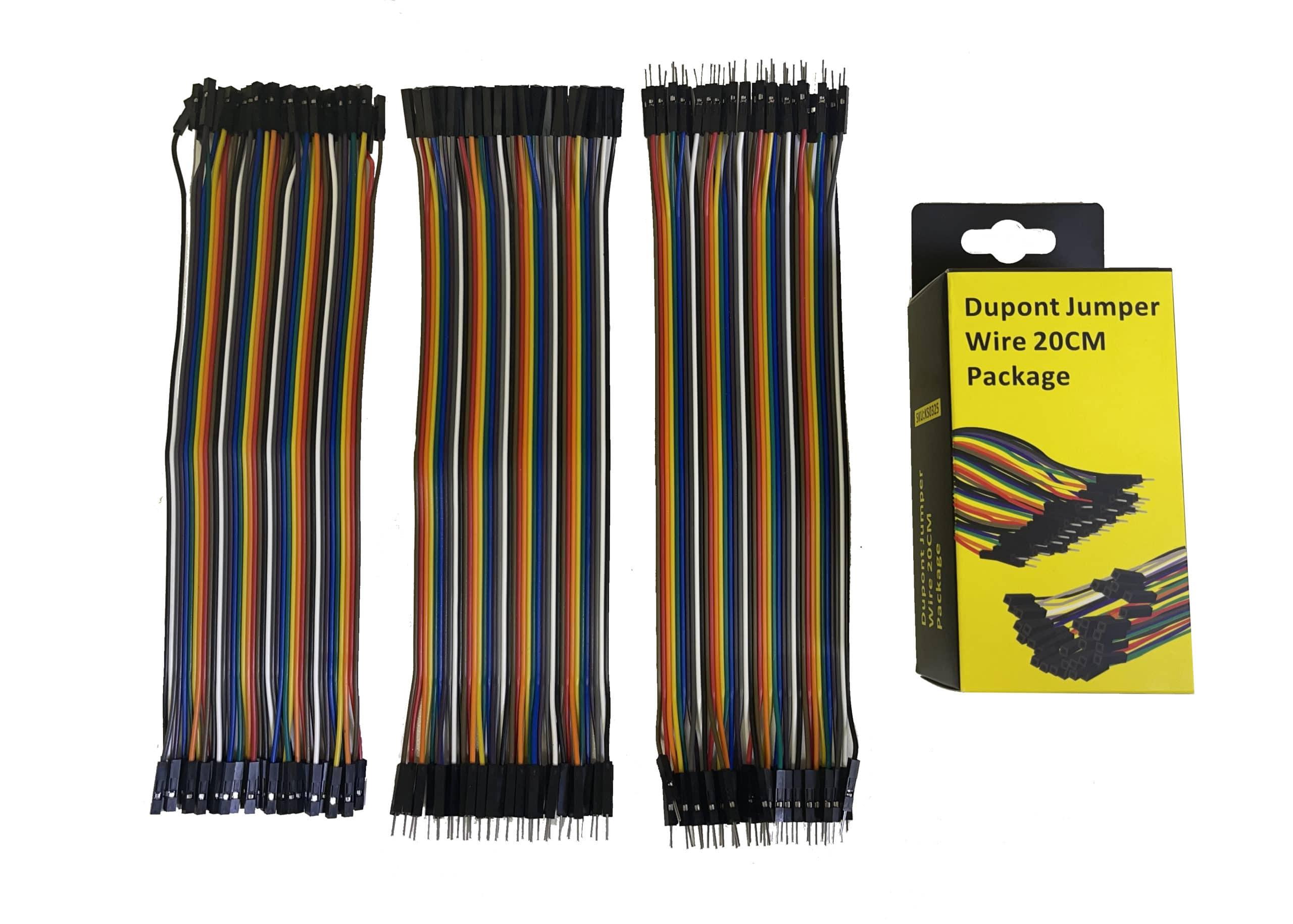 Solderless Breadboard Jumper Wires