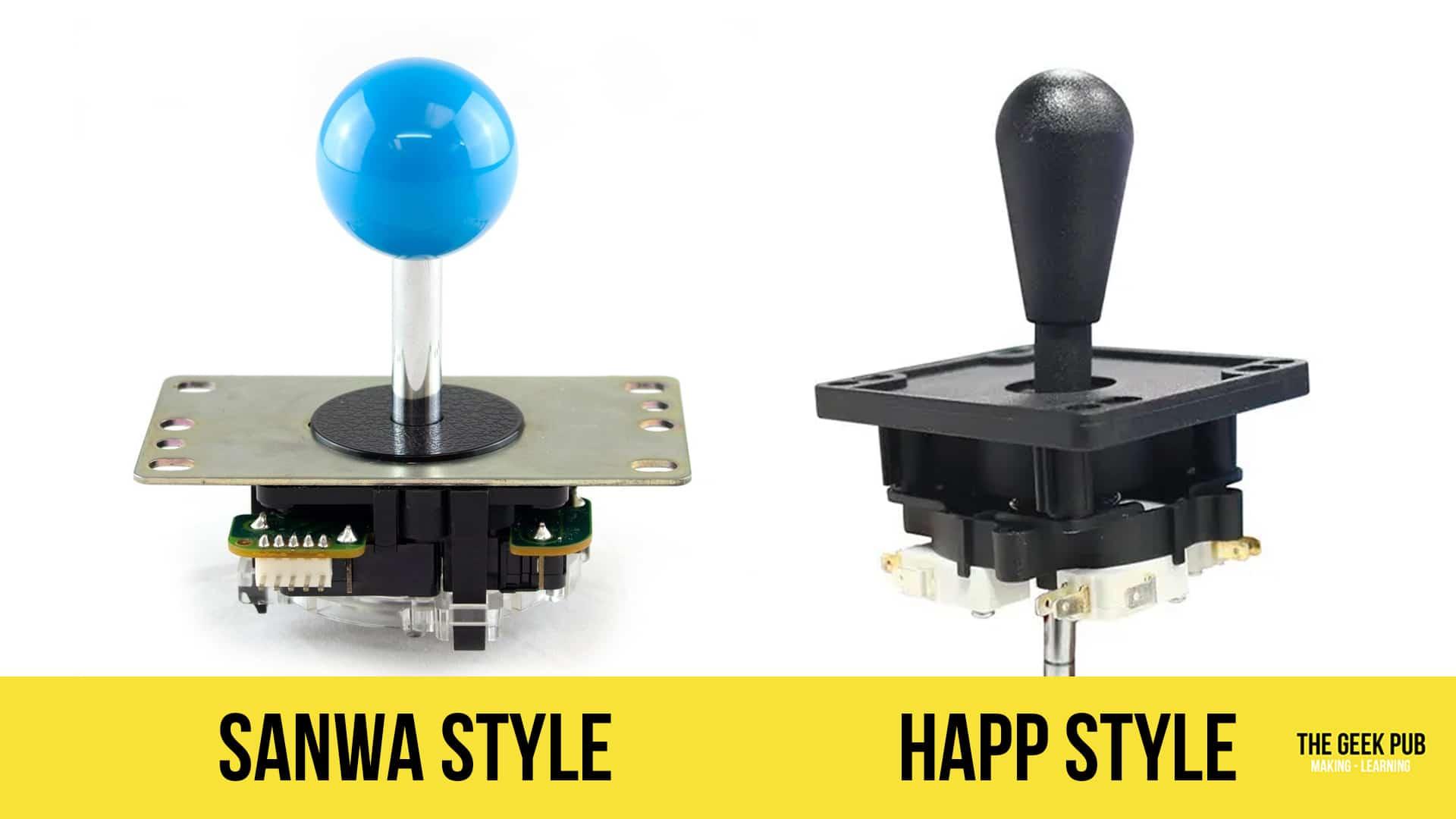 Sanwa vs Happ: The Best Arcade Joysticks