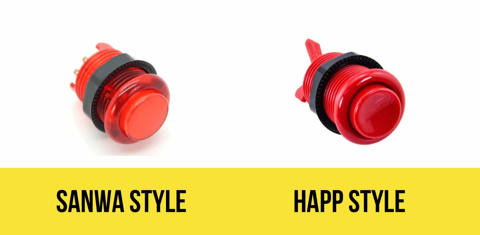 Sanwa vs Happ Buttons: The Best Joystick and Buttons