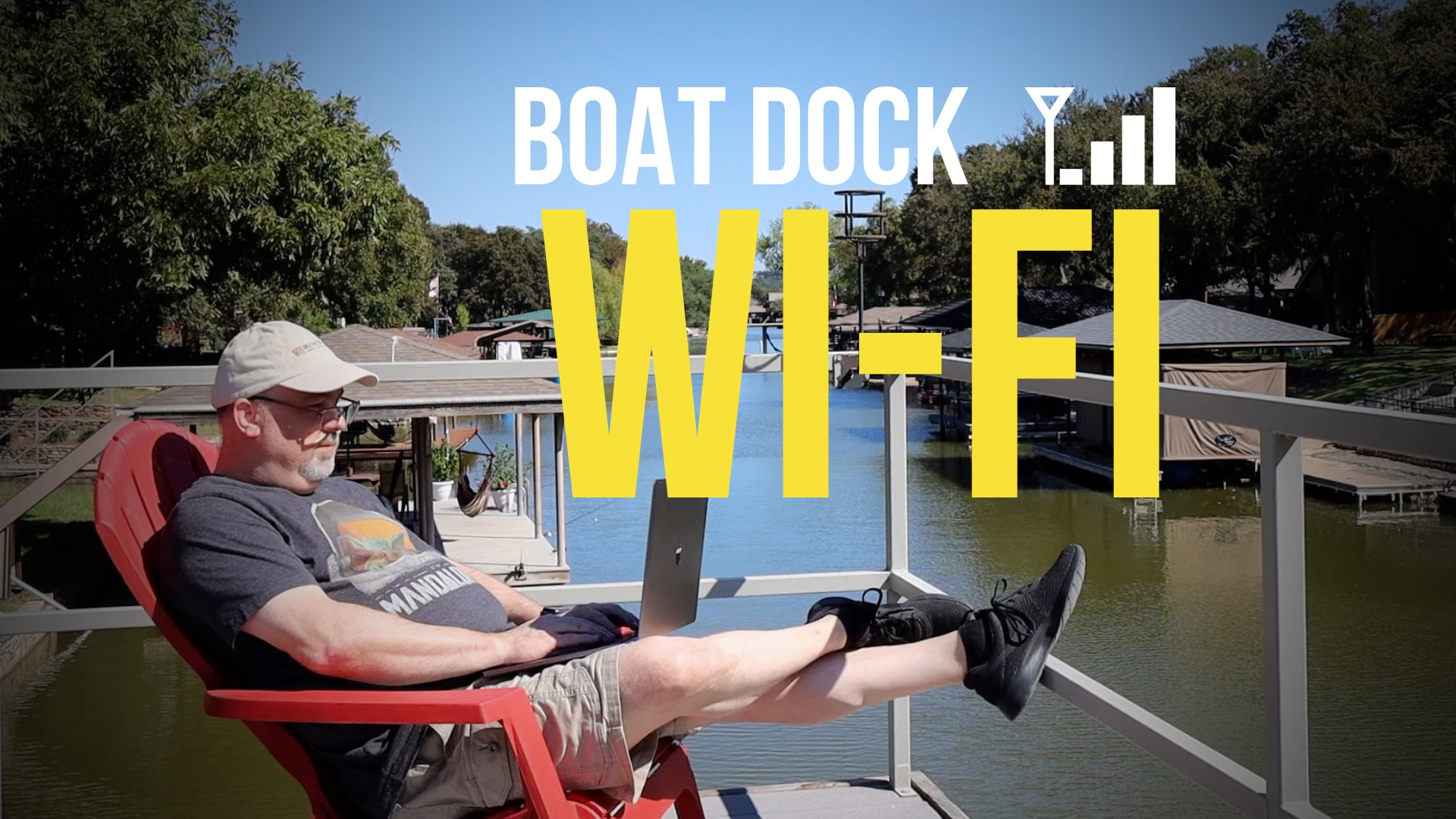 Wi-Fi at the Boat Dock